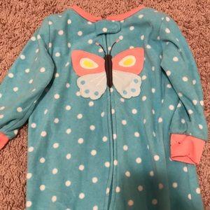 Butterfly Footie Pajamas